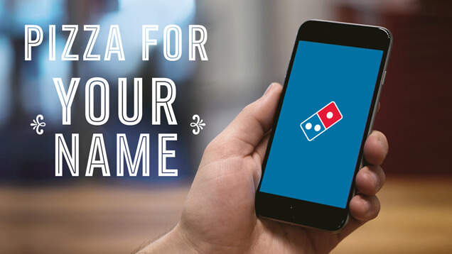 Domino's Personalized Video